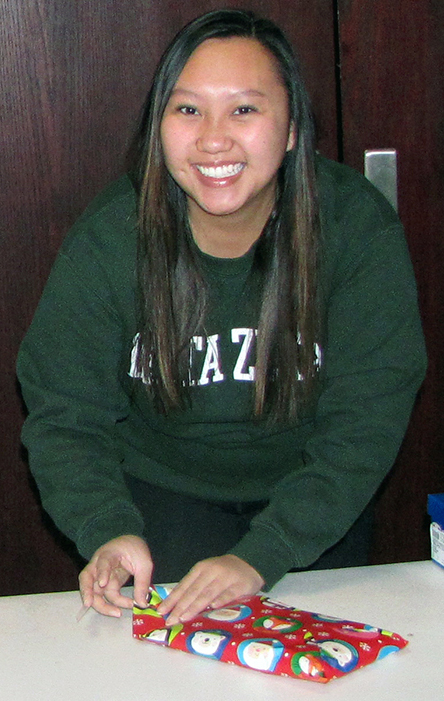 Linda Nguyen, a UW-Stout student, says it is important for students to be part of the community and help give back.