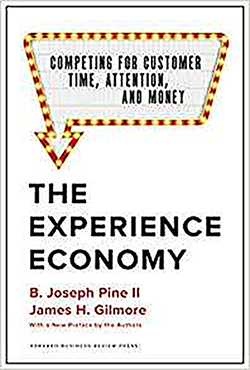 "The 2019 edition of ""The Experience Economy"""