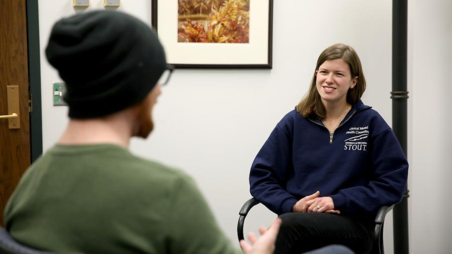 Clinical Mental Health Counseling students at UW-Stout