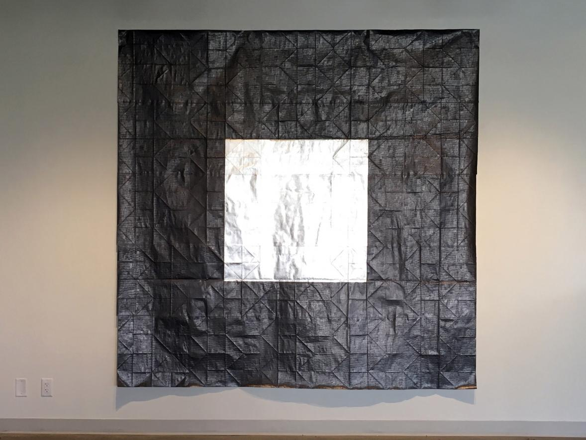 "Jenene Nagy's ""Flags + Monuments"" exhibit at UW-Stout's Furlong Gallery will include large works on paper and printed flags."