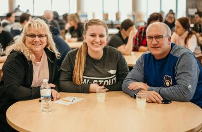Families came to UW-Stout to celebrate Family Weekend with their students.
